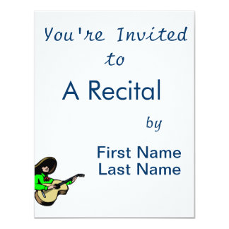 mexican guitar player green.png personalized announcements