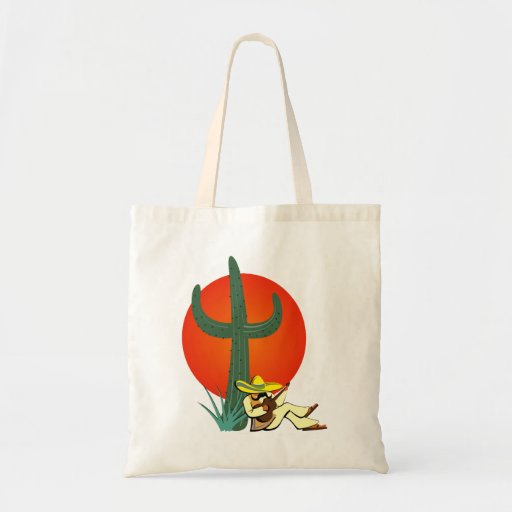 Mexican guitar player Mexican guitar more player Tote Bags