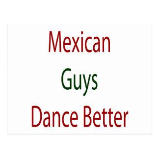 Mexican Guys Dance Better Postcard