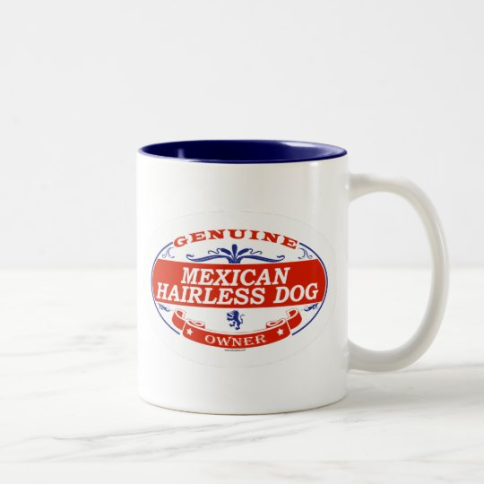 Mexican Hairless Dog  Two-Tone Coffee Mug