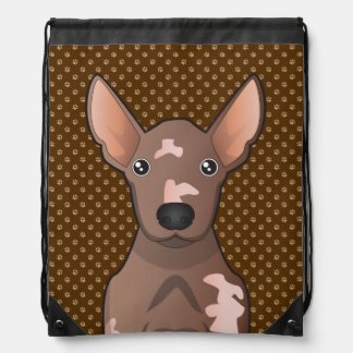 Mexican Hairless Dog (Xoloitzcuintle) Drawstring Bag