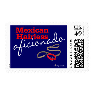 Mexican Hairless Postage Stamps