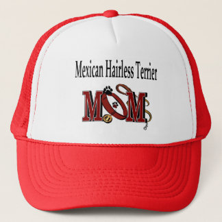 Mexican Hairless Terrier Mom Gifts Trucker Hat