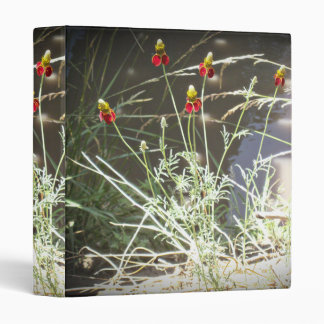 Mexican Hat Coneflower Flower in the Mountains Vinyl Binder