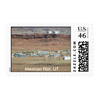 Mexican Hat Postage Stamp