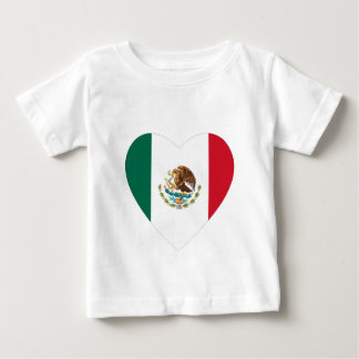 Mexican Heart Baby T-Shirt