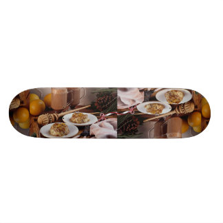 Mexican holiday desserts skate board