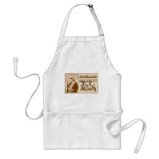 Mexican Homeland Security Adult Apron
