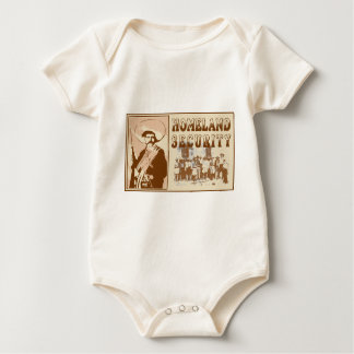 Mexican Homeland Security Baby Bodysuit