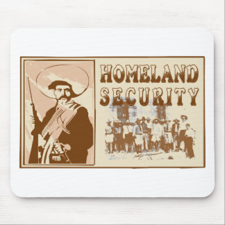 Mexican Homeland Security Mouse Pad