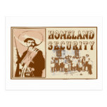 Mexican Homeland Security Postcard