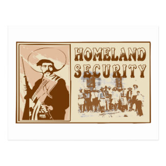 Mexican Homeland Security Postcard