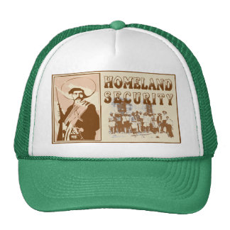 Mexican Homeland Security Trucker Hat