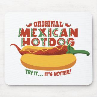 Mexican Hotdog Mouse Pad