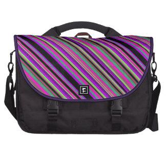 Mexican Inca Aztec Pink Geometric Pattern Commuter Bag