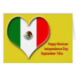 Mexican Independence Day September 16 Greeting Card