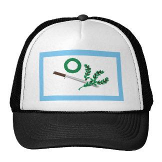 Mexican Insurgents White Flag T-Shirts Trucker Hat