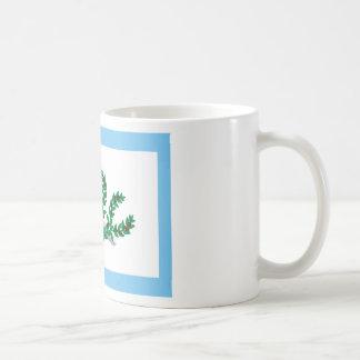 Mexican Insurgents White Flag T-Shirts Classic White Coffee Mug