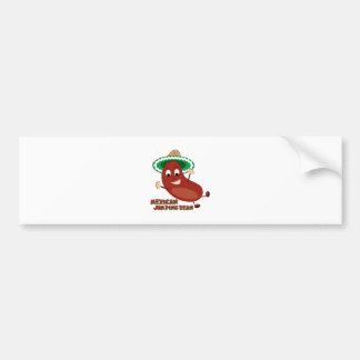 Mexican Jumping Bean Bumper Stickers