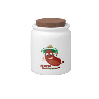 Mexican Jumping Bean Candy Jars