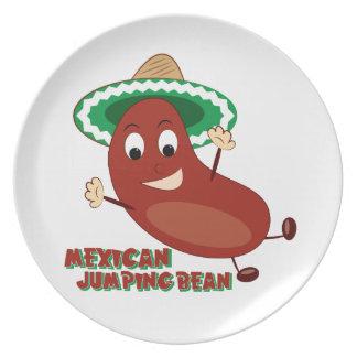 Mexican Jumping Bean Dinner Plate