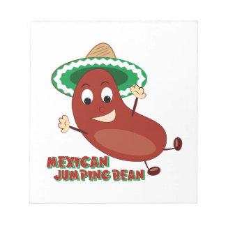 Mexican Jumping Bean Notepads