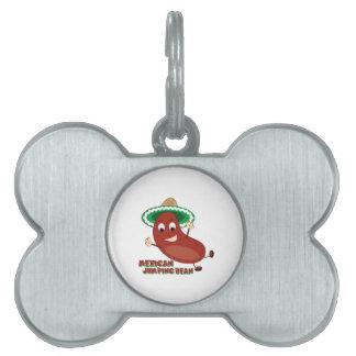 Mexican Jumping Bean Pet Name Tag