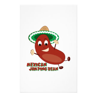 Mexican Jumping Bean Stationery Paper