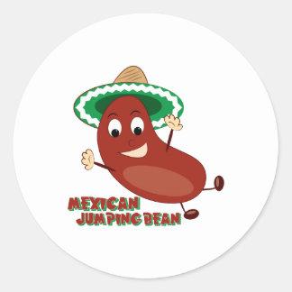 Mexican Jumping Bean Sticker