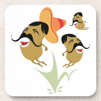 Mexican Jumping Beans Drink Coasters
