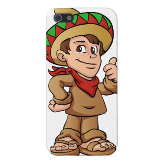 mexican kid cartoon. cover for iPhone SE/5/5s
