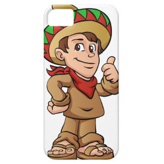 mexican kid cartoon. iPhone SE/5/5s case