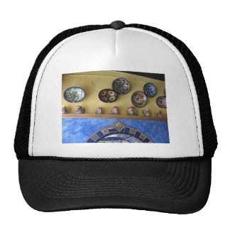 Mexican Kitchen plates and pottery Trucker Hat