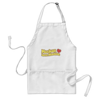 Mexican Love Machine Adult Apron