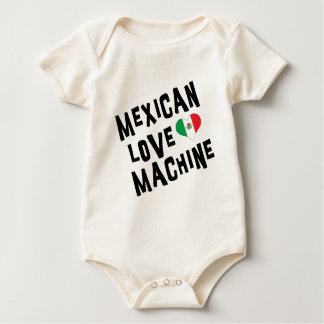 Mexican Love Machine Baby Baby Bodysuit