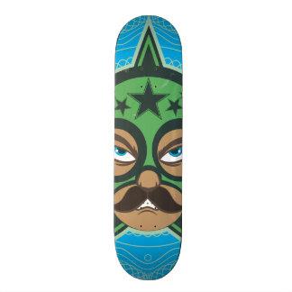 Mexican Luchador Custom Skate Board