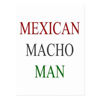 Mexican Macho Man Postcard