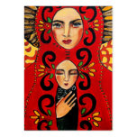 mexican madonna business card template