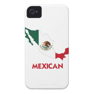 MEXICAN MAP Case-Mate BLACKBERRY CASE