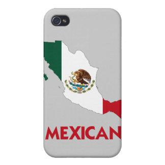 MEXICAN MAP COVER FOR iPhone 4