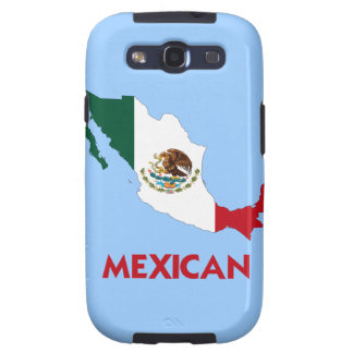 MEXICAN MAP SAMSUNG GALAXY S3 CASES