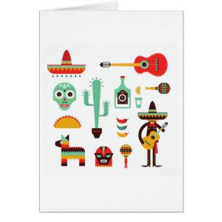 mexican mariachi card