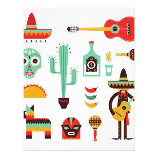 mexican mariachi letterhead