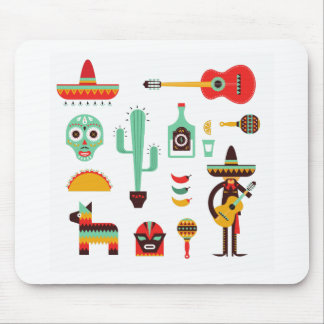 mexican mariachi mouse pad