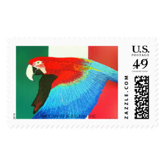 Mexican mcCaw Postage