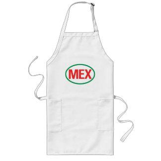 Mexican MEX Long Apron