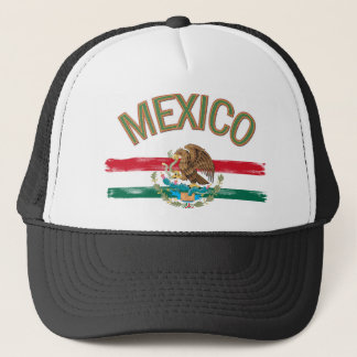 Mexican Mexico Flag Trucker Hat