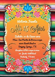 Mexican Invitations Zazzle