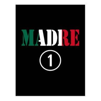 Mexican Moms : Madre Numero Uno Postcard
