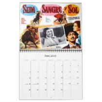 Mexican Movie Poster Wall Calendar
